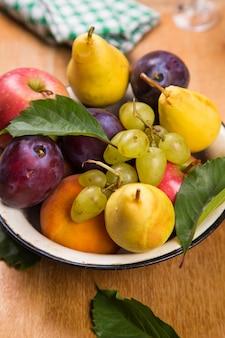 Herbst frische früchte