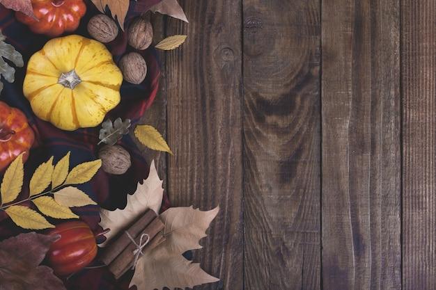 Herbst halloween oder thanksgiving backgrouund
