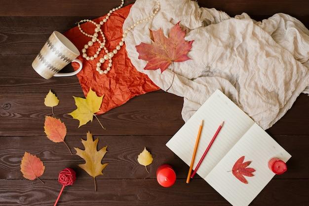 Herbst kompositionshintergrund
