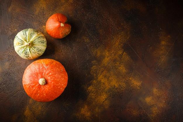 Herbst kürbis hintergrund