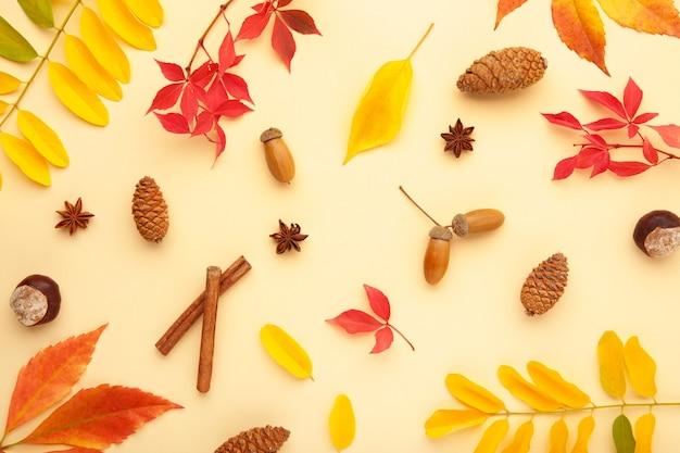 Herbst- oder winterkomposition