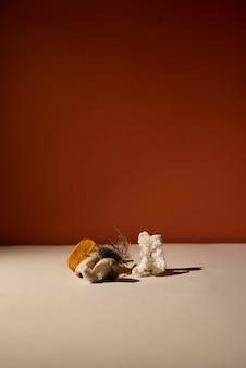 Herbst-stillleben-sortiment