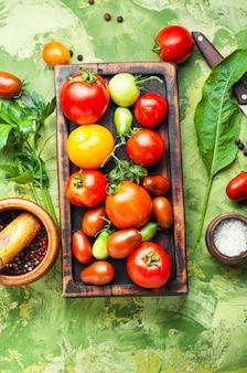 Herbst tomatenkonservierung