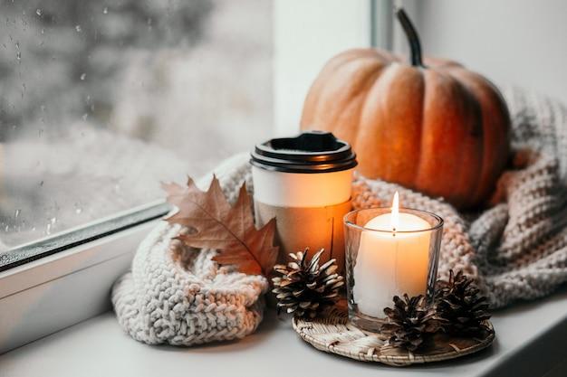 Herbstkomposition.