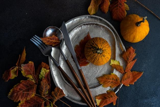 Herbstliche tabelleneinstellung