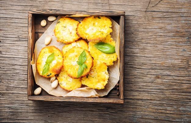 Herbstmuffins aus zucchini