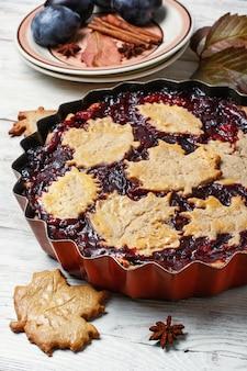 Herbstpflaumenkuchen