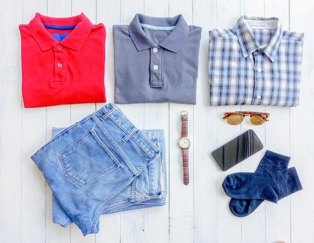 Herrenbekleidung und accessoires