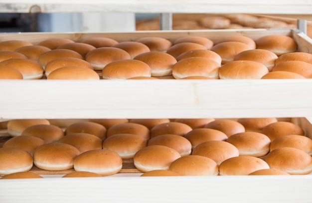 Herstellung von kuchen und süßwaren im unternehmen.