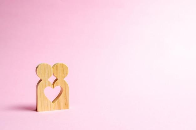 Herz zwischen menschen