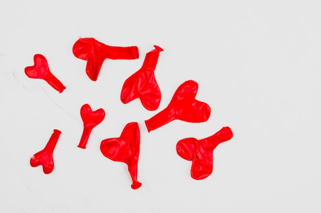 Herzförmige ballons