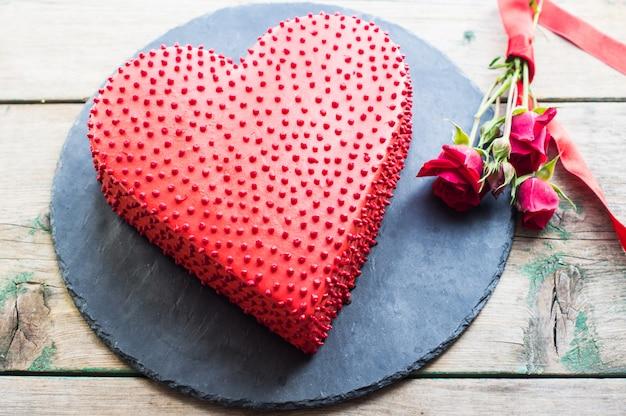 Herzförmige kuchen