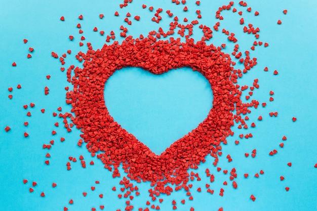 Herzförmiger rahmen