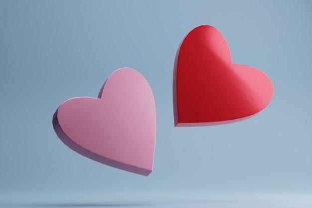 Herzform 3d rendern
