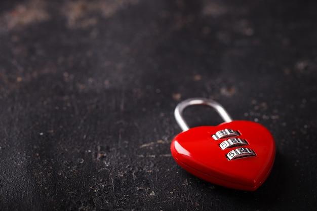 Herzform. valentinstag-konzept.