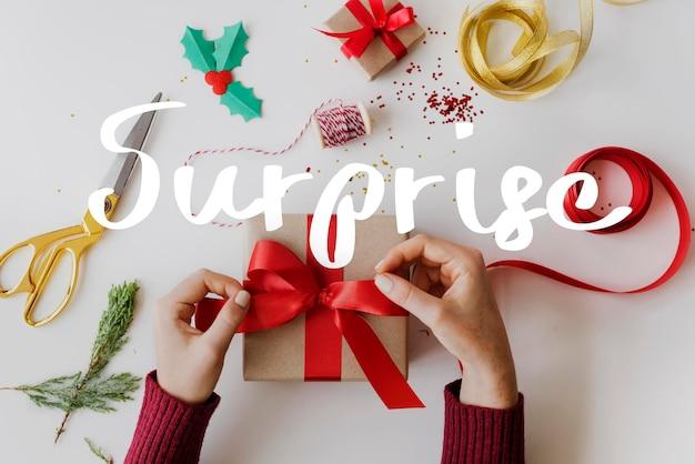Herzlichen glückwunsch zur feier überraschung besonderes geschenk