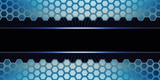 Hexagon abstract honeycomb wall einfache starke technologie hintergrund 3d