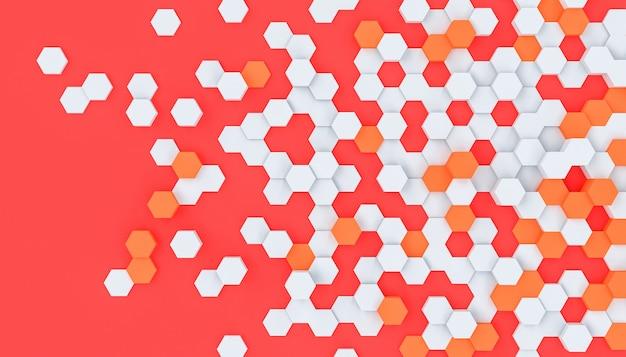Hexagon formt modernen hintergrund