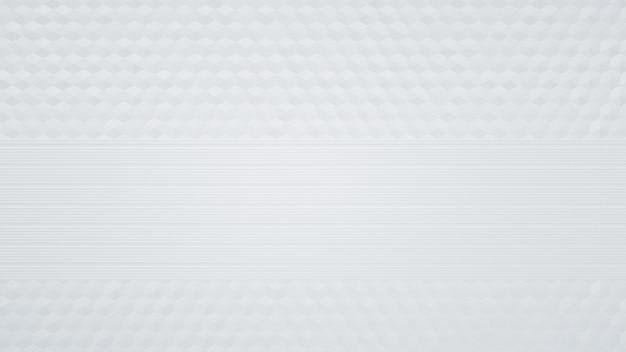 Hexagon weißer hintergrundentwurf