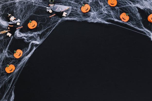 Hexen und kürbisse im web