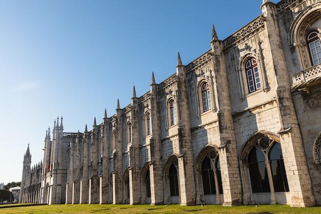 Hieronymus-kloster in belem lissabon portugal