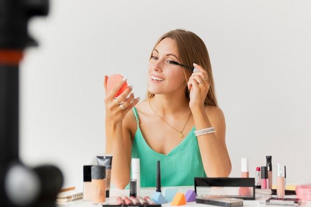 High angle beauty tutorial drehzeit