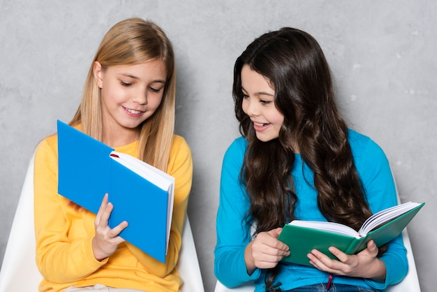 High angle girls lesen