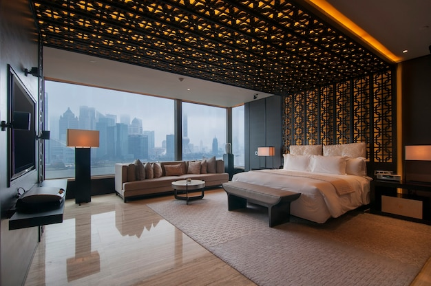 High-end saubere und atmosphärische hotelzimmer