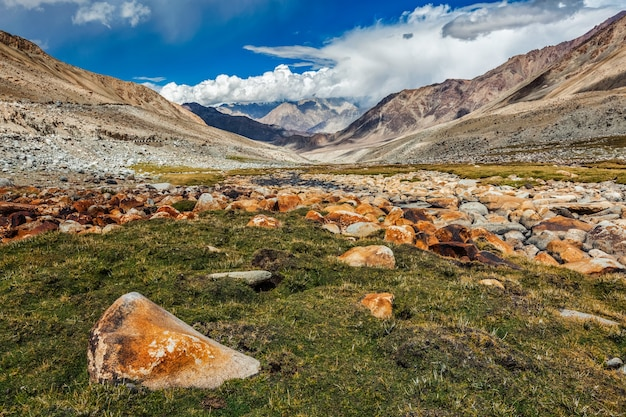 Himalaya-landschaft ladakh indien
