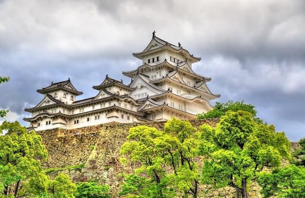 Himeji-schloss in der kansai-region japans