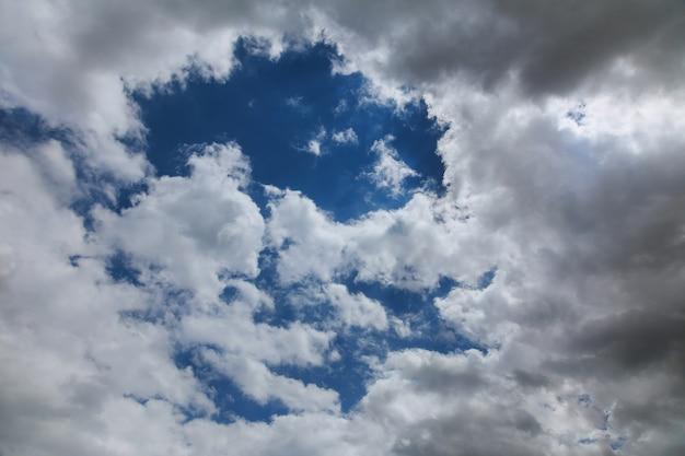 Himmel bewölkt flug