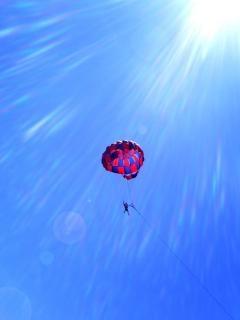 Himmel, blau, luft