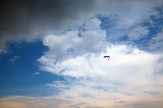 Himmel, flauschigen