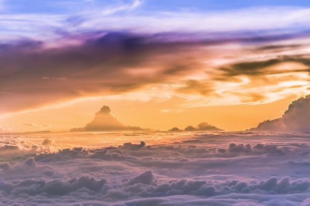 Himmel grand von wolken und skyscape