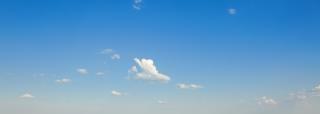 Himmel, horizontal