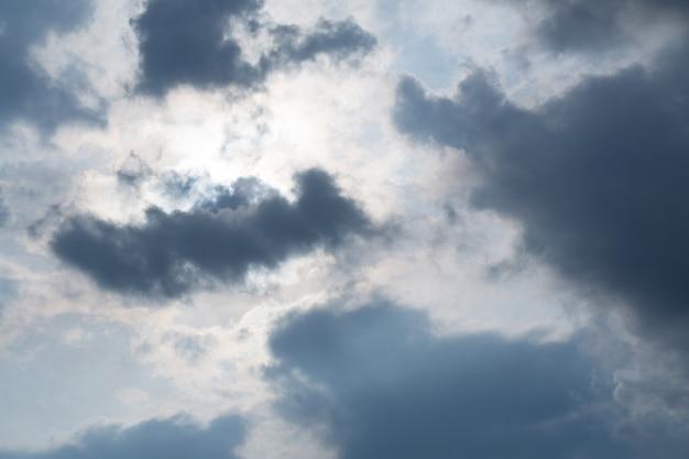 Himmel im sonnenunterganghintergrund