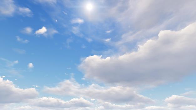 Himmel mit wolken