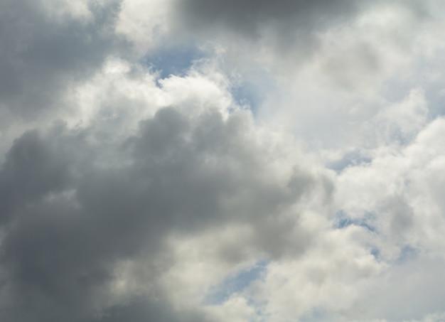 Himmel und schwere wolken