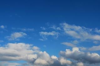 Himmel wolken tief