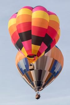 Himmelfahrt des heißluftballonfestivals