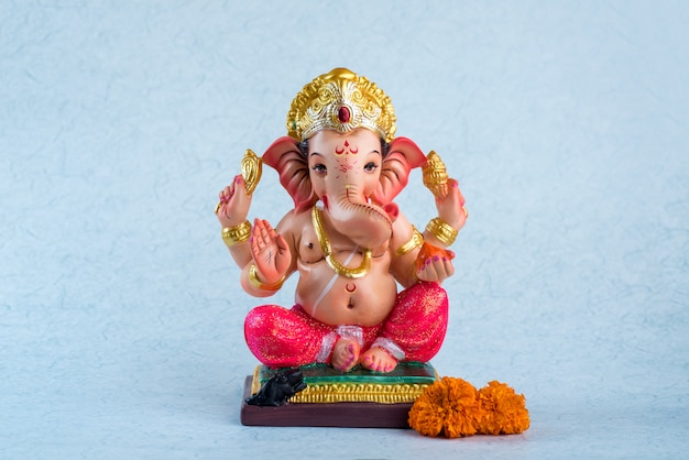 Hindu-gott ganesha. ganesha idol