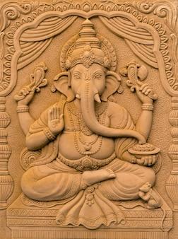 Hindu-gott ganesha herr des erfolgs