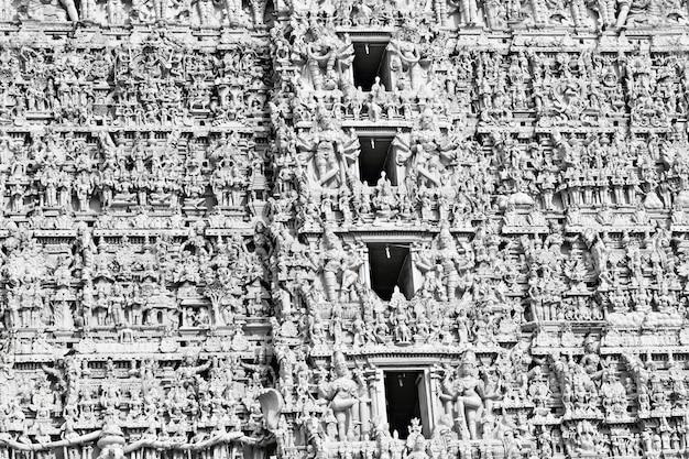 Hindu-tempelfassade