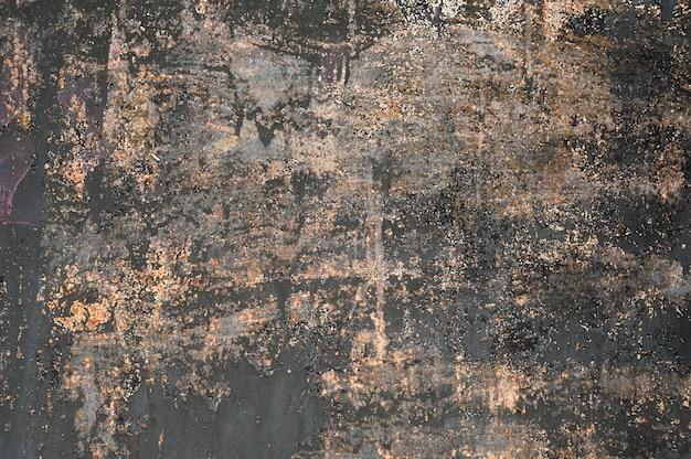 Hintergrund aus altem metall. rostige metallwand.