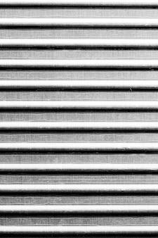 Hintergrund aus gestreiftem stahlmaterial