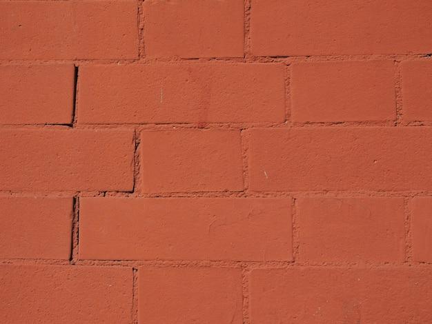 Hintergrund aus rotem backstein