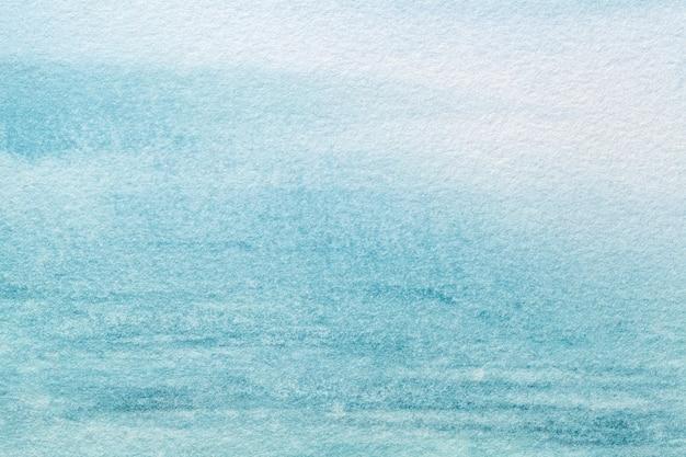 Hintergrund der abstrakten kunst hellblau und türkisfarben.