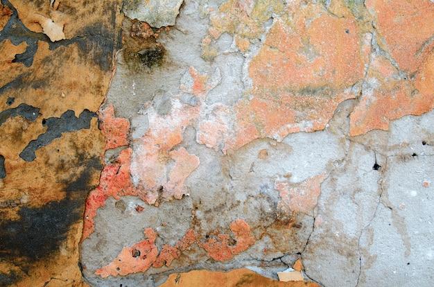 Hintergrund der alten mauer.