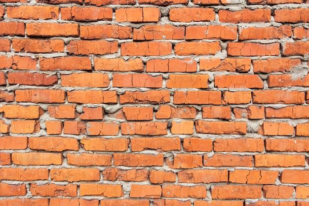 Hintergrund der alten weinlesebacksteinmauer