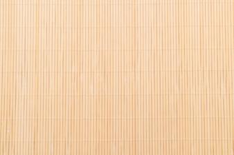 Hintergrund der Bambusoberfläche der Matte